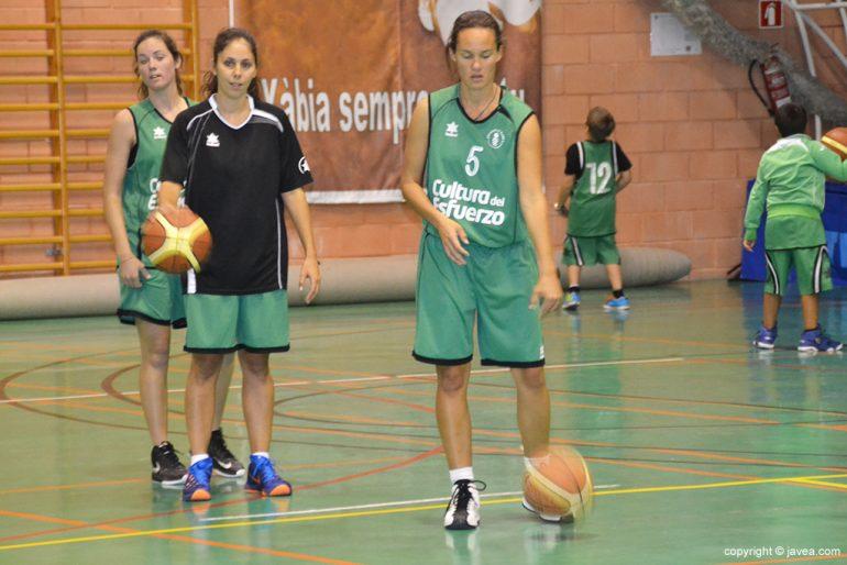Jugadoras del CB Joventut Xàbia