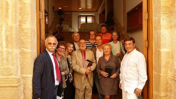 Francisco Pastor junto a familiares y amigos