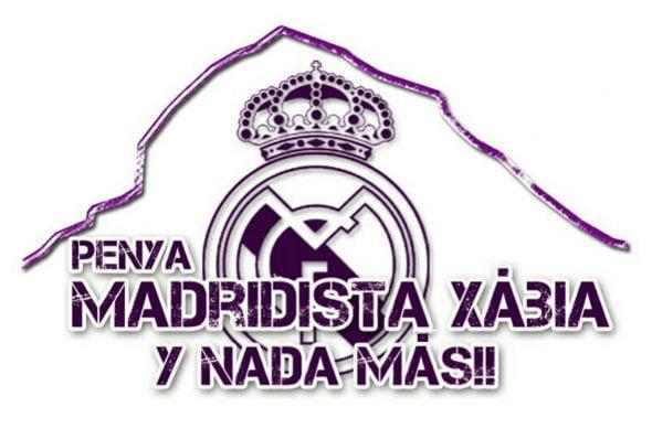 Logo de la Peña Madridista Xàbia y nada más
