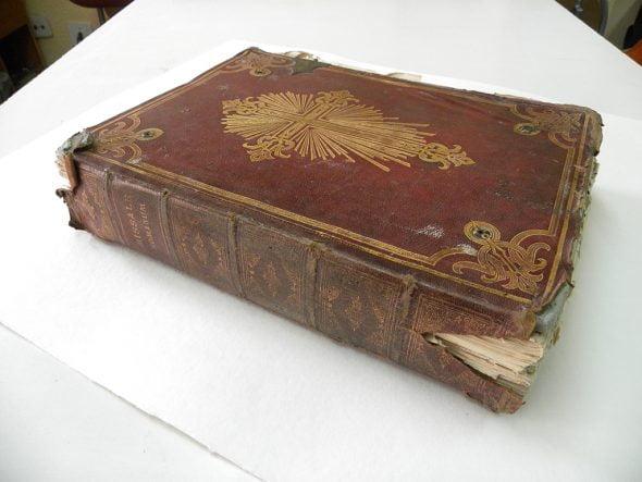 MIsal de 1886 de Benitatxell