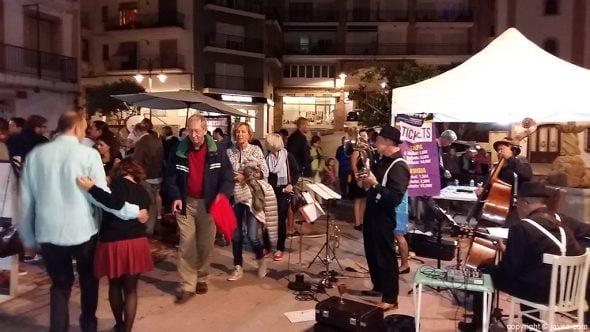 Música en vivo en las calles