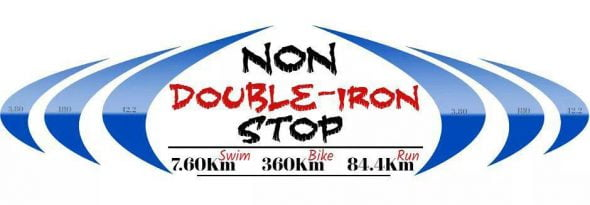 Doble Iron man Solidario 'Non stop'