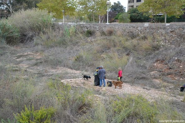 Podemos limpia el rio Gorgos