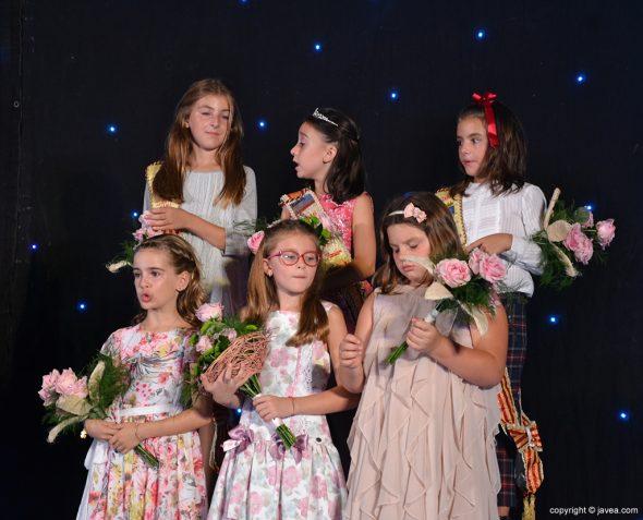 Reinas y damas infantiles