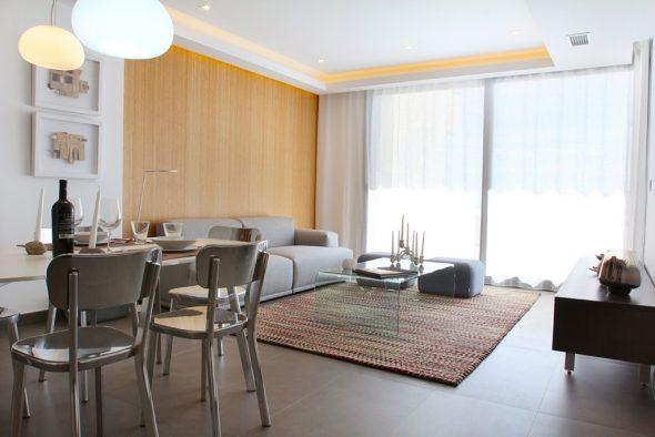 Sala de estar Atina Inmobiliria