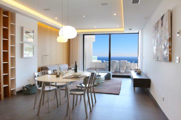 Sala de estar y comedor Atina Inmobiliaria