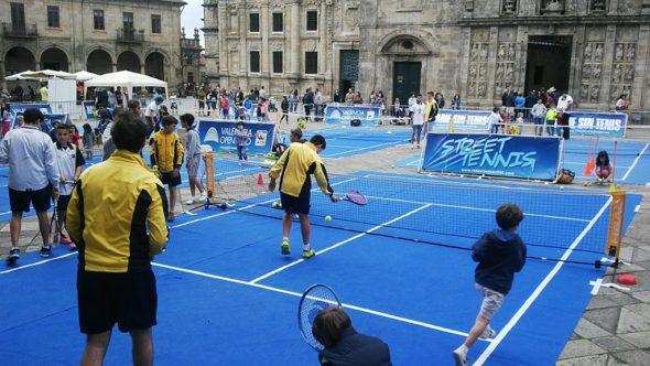Jornada de Steet Tenis