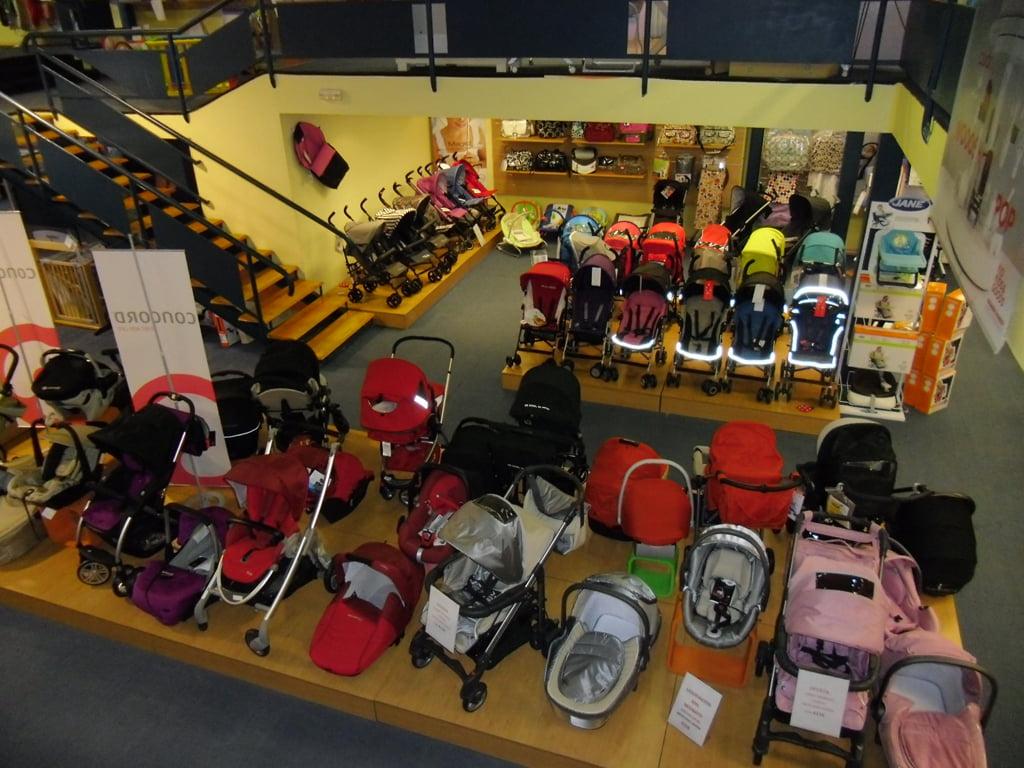Baby Shop Interior
