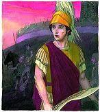 El romano Quinto Sertorio con Falcata