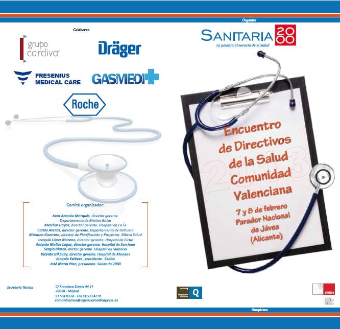 Encuentro de directivos de la Salud en Xàbia