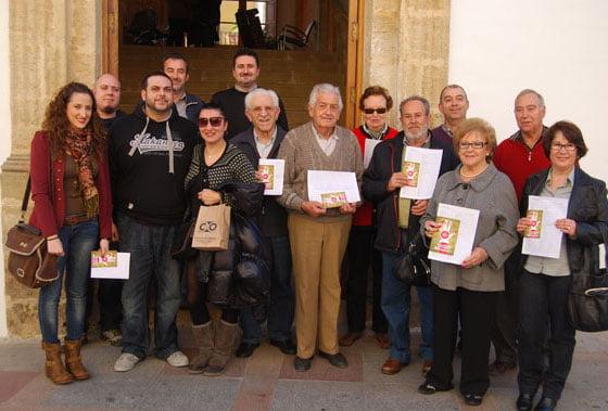 Ganadores de los cheques de Xàbia Històrica