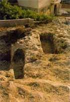 Roman necropolis on the Mountain