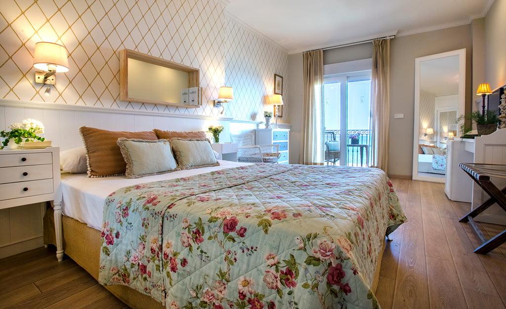 Dormitorio en Hotel Los Ángeles