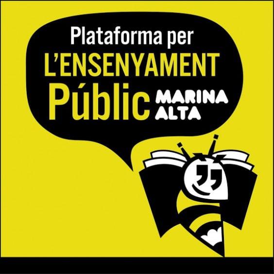 Plataforma per l'ensenyament público Marina Alta