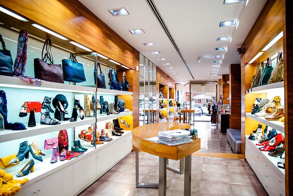Interior zapatería de calidad Dénia – Calzados Ramón Marsal
