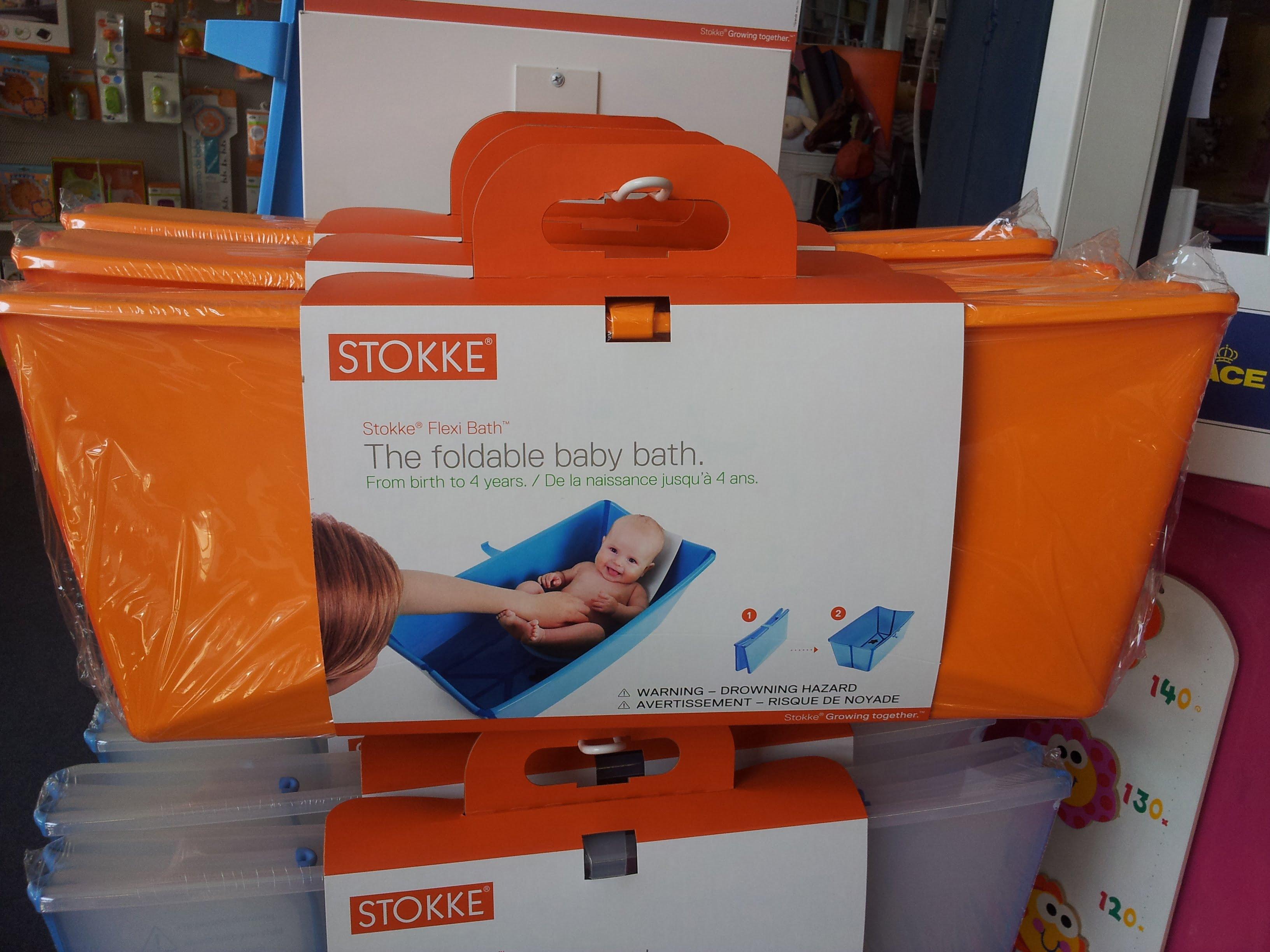 Bañera para bebé plegable y flotante de Stokke, BayShop