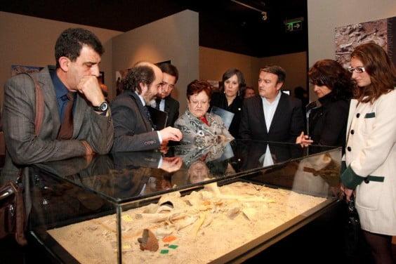 Exposición Art i Mort al Montgó en el MARQ