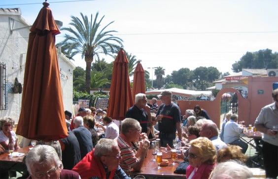 Feria solidaria en Balcón al Mar de Xàbia