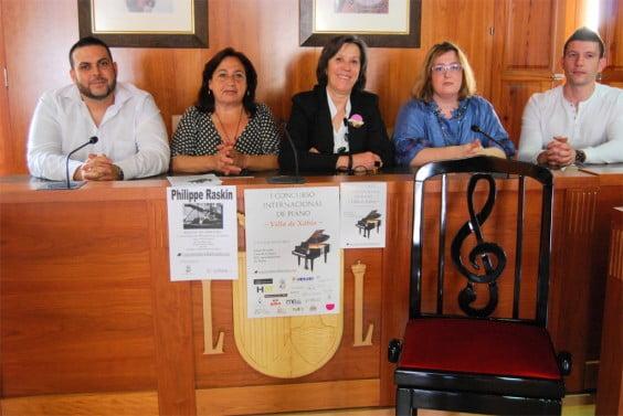 I Concurso Internacional de piano Villa de Xàbia - Presentación