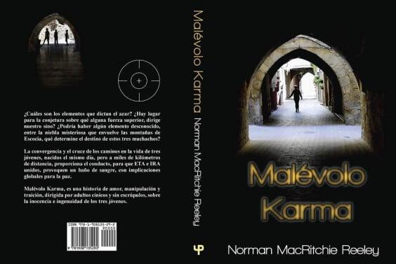 Presentación del libro Malévolo Karma en Jávea