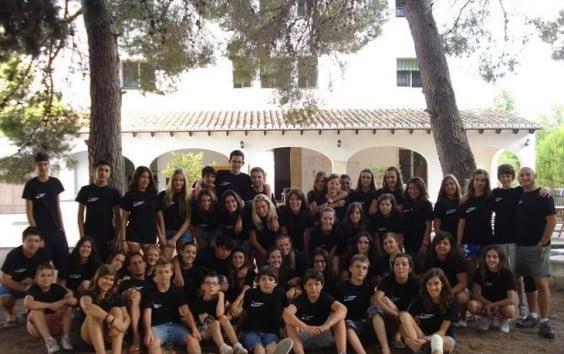 campamento de inglés Monjove 2012