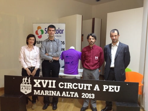 presentación camisetas circuit peu