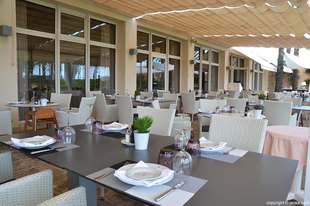 Terraza Restaurante Parador de Jávea