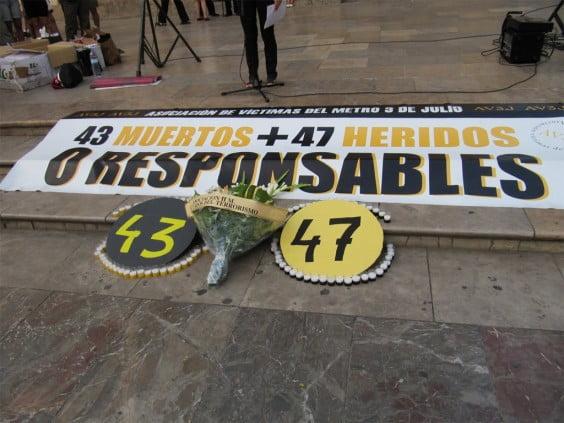 Compromís per Xàbia quiere un acto homenaje a las víctimas del accidente de Metro de Valencia