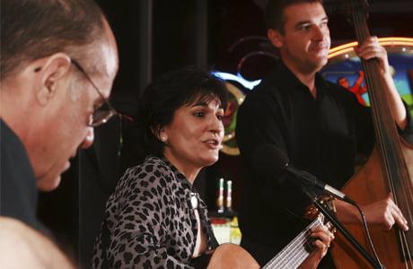Concierto de Eva Dénia en Xàbia Folk 2013