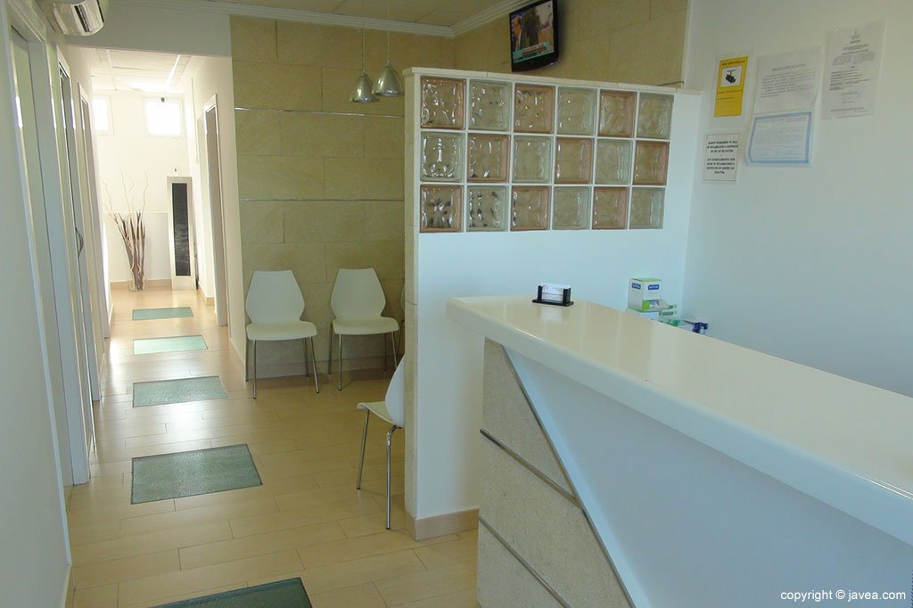 Interior Clínica Dental Puchol