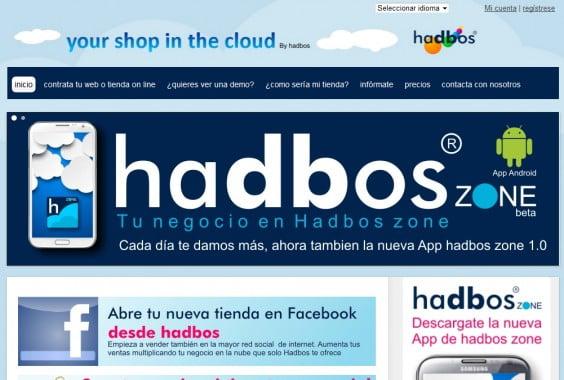 Plataforma para el pequeño y mediano comercio Hadbos