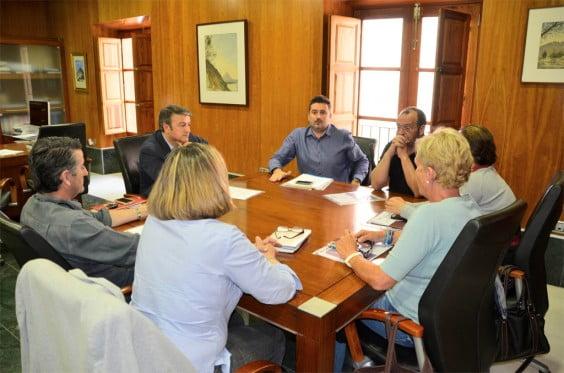 Reunión de portavoces en Jávea por el Plan de Empleo del municipio