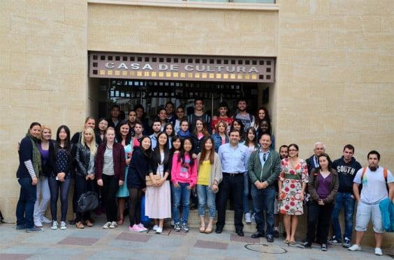 Visita de estudiantes de turismo a Xàbia