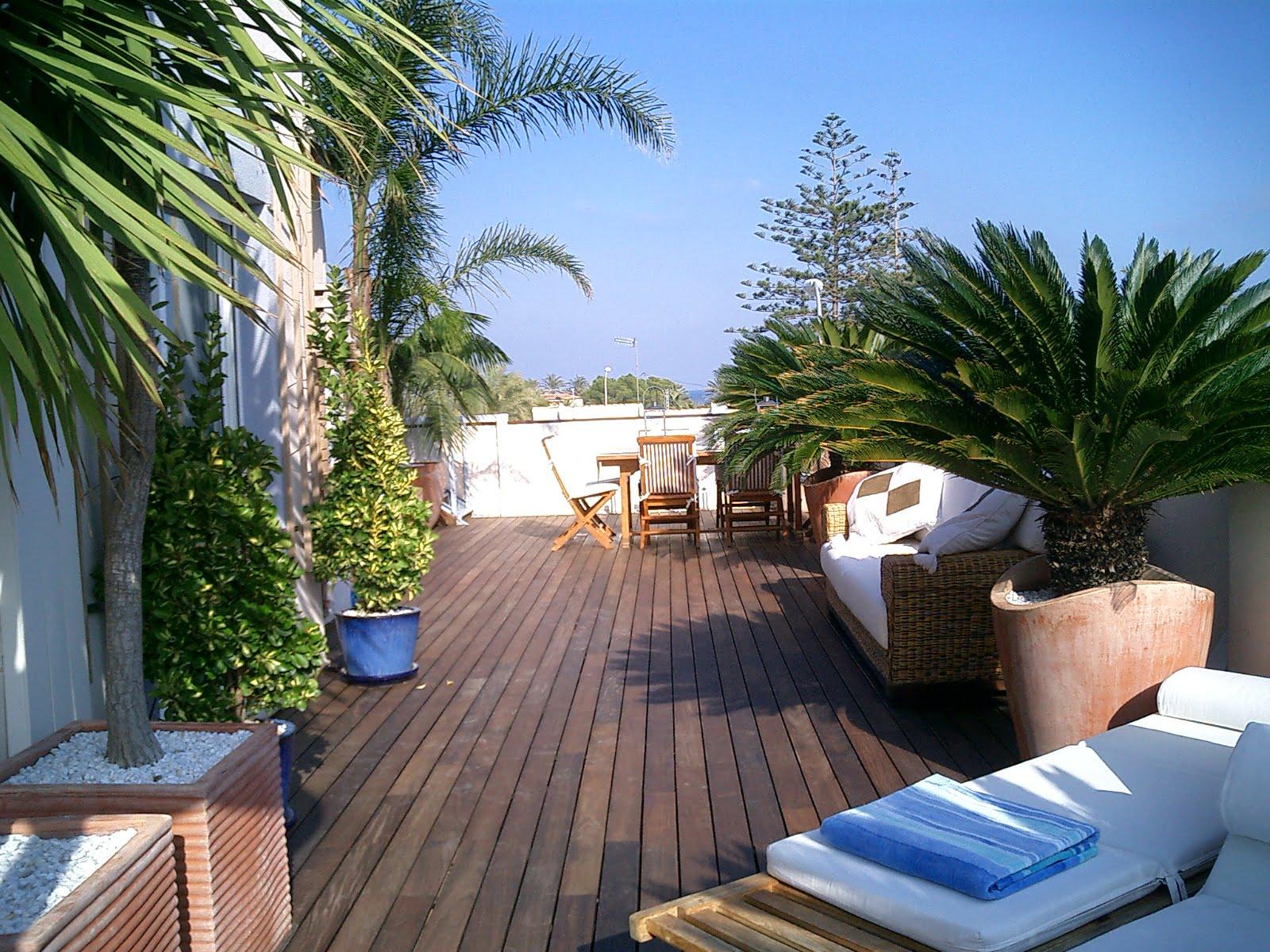 Terraza de chalet vacation villas j x - Terrazas bonitas ...