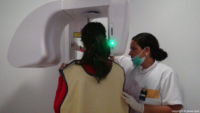 Clínica Dental Puchol radiografía