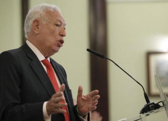 El Ministro de Exteriores, José Manuel García-Margallo, clausuró en Jávea la Escuela de Verano de la Fundación Vives que se celebró en el antiguo monasterio de San Jerónimo de la Plana