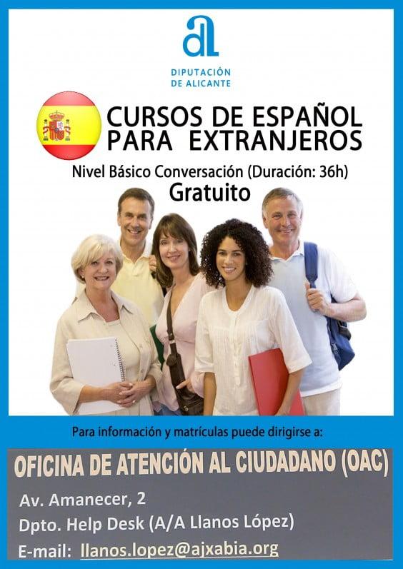 Help Desk Jávea ofrecerá a partir de septiembre un curso gratuito de español básico para extranjeros en la EPA