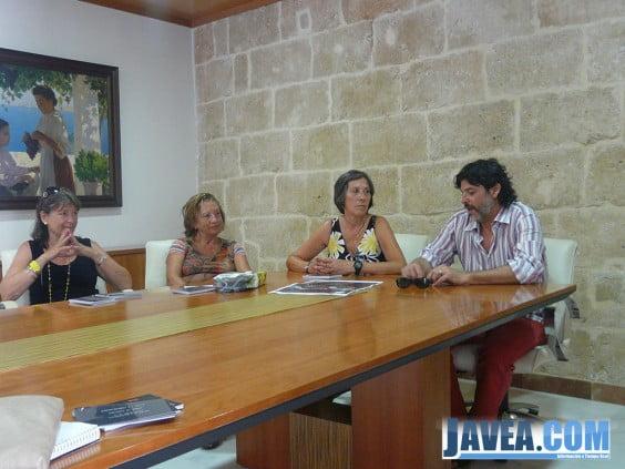 Presentación de la exposición Aach in Xàbia