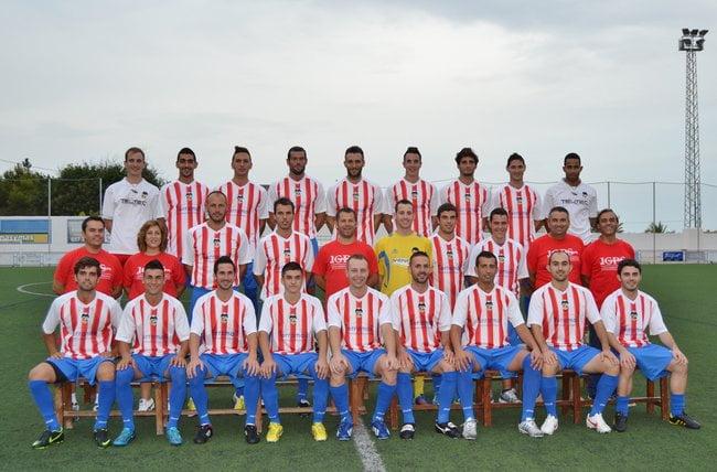 Foto Oficial del CD. Jávea 2013-2014