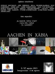 Inauguración de la exposición Aachen in Xàbia