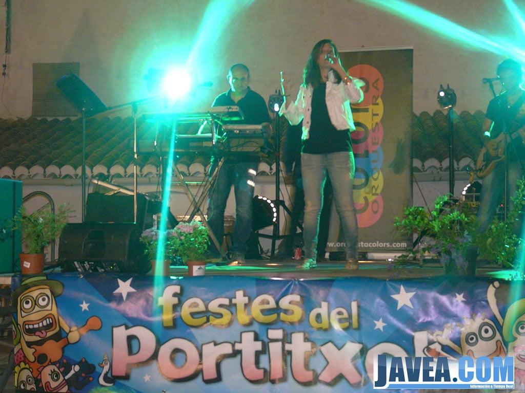 L'orquestra Colors a les festes del Portitxol 2013