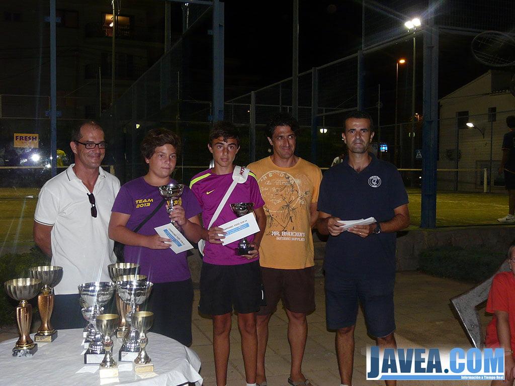 Pablo Beltra y Orien Ribelles vencedores de Pádel Sub 14
