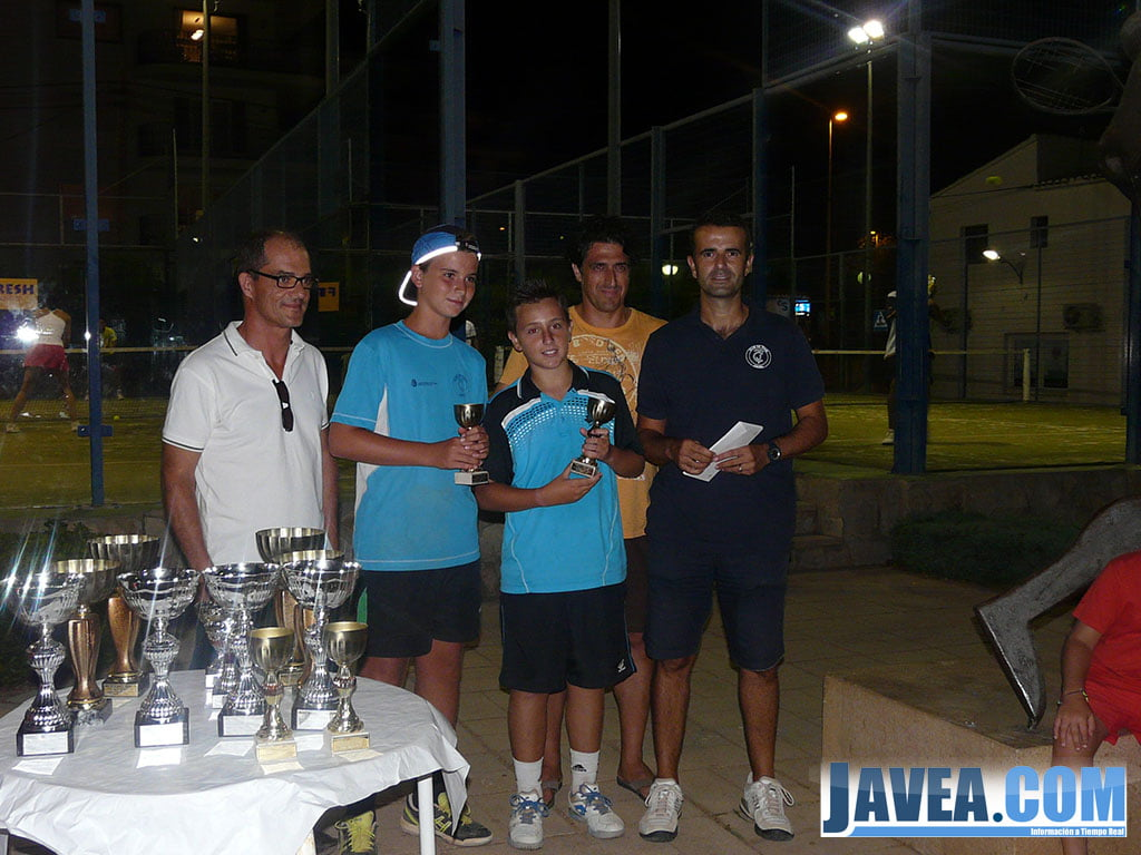 Luis Foix-Javi Escriva cayeron en la final Sub 14 de pádel
