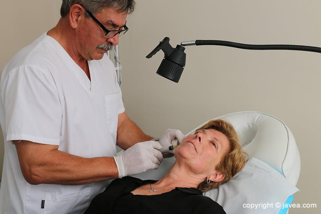 Tratamento de rugas em Jávea - Policlinica Cume