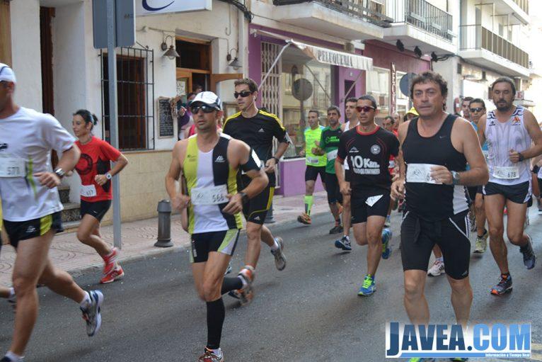 Comienzo de la carrera Cross Popular Baix Montgó