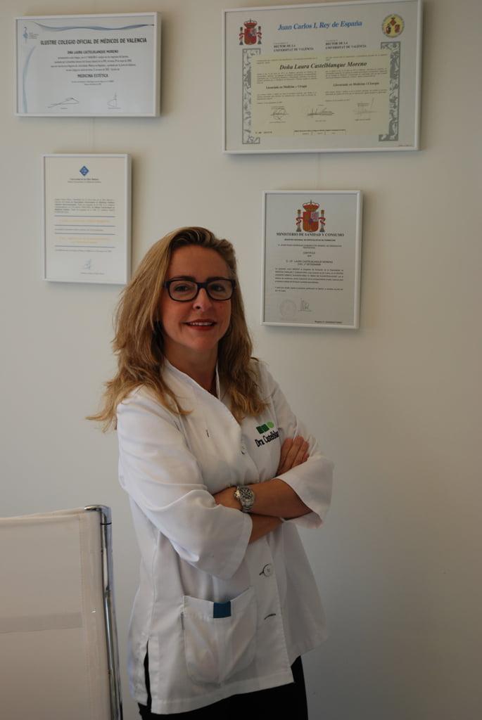 La Doctora Laura Castelblanque