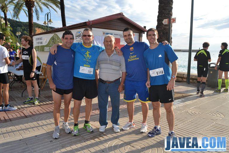 Participantes de la carrera antes de comenzar