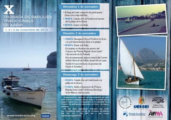 X trobada barques tradicionals