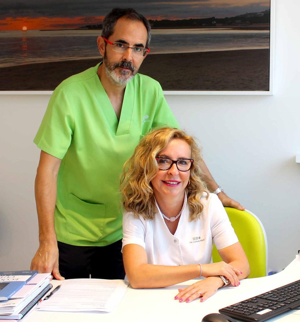 Laura y Pipo Clinica Estetica Castelblanque