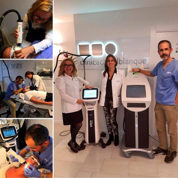 Nova màquina Ellipse en funcionament a Clínica Castelblanque